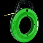УЗК Greenlee 52041749 MagnumPro — Особопрочный пластиковый барабан со стальным тросом для протяжки кабеля, 30 м, Ф 4,8 мм