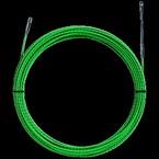 УЗК Greenlee 52055292 без корпуса, витой пруток, пониженное трение, полиэстер, 10 м × 4,5 мм