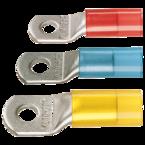 Медный изолированный стандартный наконечник Klauke 610R12MS с контрольным отверстием 150 мм² М12