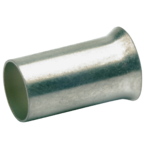 Втулочный неизолированный посеребренный наконечник Klauke 7925V, 16,0 мм², длина втулки 15 мм