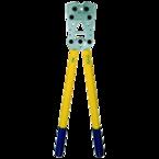 Пресс-клещи с встроенной матрицей Klauke K09 для медных трубчатых облегченных наконечников, 25–150 мм², шестигранник