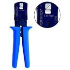 Пресс-клещи с храповым механизмом Klauke K303 для втулочных наконечников, 0,14–10 мм², ромб