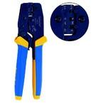 Пресс-клещи с храповым механизмом Klauke K582 для контактных зажимов типа FASTON, конт. 4,8 мм, сечение 0,5–2,5 мм²