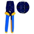 Пресс-клещи с храповым механизмом Klauke K592 для контактных зажимов типа FASTON, конт. 6,3 мм, сечение 0,5–6 мм²