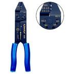 Пресс-клещи Klauke K60 для контактных зажимов типа FASTON, конт. 2,8/4,8/6,3 мм, сечение 0,5–6 мм², закатывание
