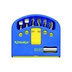 Комплект Klauke KL340: 6 бит 25 мм (5,5/6,5/PZ1/PZ2/PH1/PH2) и магнитный битодержатель