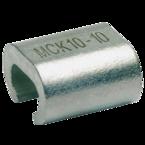 С-образный медный зажим Klauke MCK1016 для соединения двух жил разного сечения