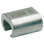 С-образный медный зажим Klauke MCK7095 для соединения двух жил разного сечения