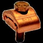 Параллельный медный болтовой зажим Klauke SAK22 для жил сечением 10–70 мм² с 1 болтом