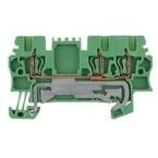 Клеммы PE пружинные 1.5мм sp2; ZPE/1.5/3AN