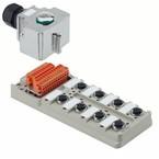 Концентратор M12 SAI (пассивный распределитель) SAI/8/MH/5P/M12/ZF/III