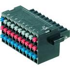 Штекерный соединитель печатной платы BL I O 3.50 30F PNP LED SN BK BX