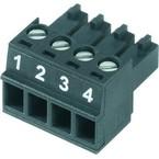 Штекерный соединитель печатной платы BCZ 3.81 12 180 SN BK BX