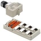 Концентратор M12 SAI (пассивный распределитель) SAI/6/M/4P/IDC/Ex/ia