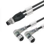 Кабели SAI концентратор сигналов контрольная линия (M12/M12) SAIL/ZW/M12BW/3L5.0U