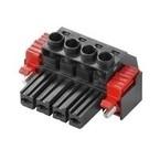 Штекерный соединитель печатной платы BVZ 7.62HP 03 180SF SN BK BX