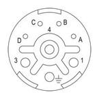 Концентратор сигналов SAI M23 BE L 4 4