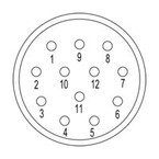 Концентратор сигналов SAI M23 BE 12