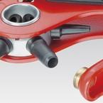 Просечные клещи Knipex с револьверной головкой с красным порошковым покрытием, 220 мм