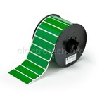 Вырубная этикетка B30EP-175-593-GN, зелёный материал B-593 EPREP, 76,20 × 19,05 мм, 435 шт. (BBP31/33/35/37)