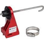 Блокираторы шарового клапана малые Brady малый блокиратор perma-mount с рычагом ду 50 и меньше