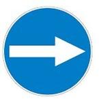 Знак безопасности предписывающий работать в средствах индивидуальной защиты органов дыхания и каске Brady 50 мм, b-7541, Ламинация, pic 261, Полиэстер, 250 шт