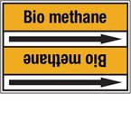 Стрелка для маркировки трубопровода Brady, черный на желтом, «carbon dioxide», 100x33000 мм, b-7529, 220 шт, 13 мм