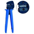 Пресс-клещи с храповым механизмом Klauke K512 для трубчатых кабельных наконечников и соединителей, сечение 6–10 мм²