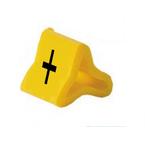 Маркер на провод 0,2-0,75 мм PY 01/3, жёлтый:+ К