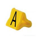Маркер на провод 0,2-0,75 мм PY 01/3, жёлтый:A П