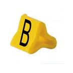 Маркер на провод 0,2-0,75 мм PY 01/3, жёлтый:B К