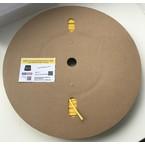Трубка ТУТНГ «Русмарк», премиум, 4,0-2,0 мм, 2:1, жёлтая, для печати, 200 м