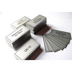 Алюминиевая табличка (шильд), 300 × 150 мм, площадь 450 см², толщина металла 1 мм, крепление скотч 3М, 1 цвет (монохром)