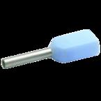 Двойной изолированный втулочный наконечник Klauke 8688, 2 × 0,34 мм²