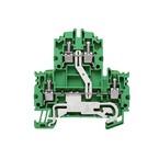 Клеммы PE двухуровневые Винтовое соединение WDK/4N/PE
