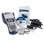 Принтер термотрансферный портативный Brady bmp41 с lm,: аккумуляторная батарея bmp41-batt,mc1-1000-595-wt-bk,usb кабель,шнур питания eu,labelmark, Комплект