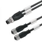 Кабели SAI концентратор сигналов контрольная линия (M12/M8) SAIL/ZW/M8BG/3/1.0U