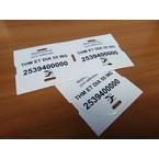 Бирки для маркировки силовых кабелей от 1 квт THM белыйTHM/ET/DIA/55/WS