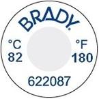 Этикетки Brady этикетка индикатор температур til-1-82c / 180f-dia,в упаковке, 13 мм, 60 шт