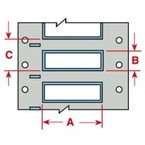 Маркер термоусадочный Brady 3ps-375-2-wt-sc, 50.8x16.4 мм, 250 шт