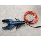 Изолированный гидравлический кабелерез с ножным насосом для кабеля до ø 95 мм (SSA95)
