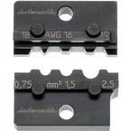 Пресс-матрица для кабельного наконечника Intercable, 0.5-2.5 мм2