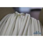 Трубка кембрик ПВХ «Русмарк» для печати, белая, 4,0 мм, 200 метров/упак (аналог IB4020)