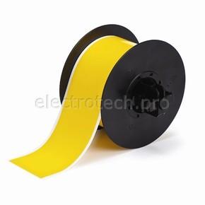 Морозостойкий жёлтый полиэстер B30C-2250-549-YL, 57,15 мм * 30,48 м (BBP31/33/35/37)