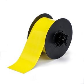 Магнитная жёлтая лента без адгезива B30C-2500-509-YL, 63,5 мм * 7,62 м (BBP31/33/35/37)