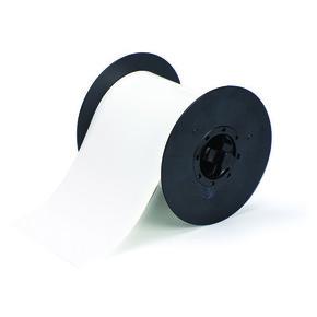 Белый полиэстер без адгезива B30C-4250-551-WT, бирки, 107,95 мм * 30,48 м (BBP31/33/35/37)