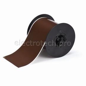 Коричневый винил для маркировки внутри/снаружи помещения B30C-4000-595-BR, 101,6 мм * 30,48 м (BBP31/33/35/37)
