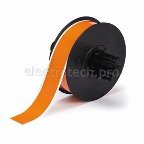 Оранжевый винил для маркировки внутри/снаружи помещения B30C-1125-595-OR, 28,58 мм * 30,48 м (BBP31/33/35/37)
