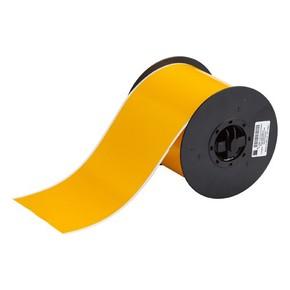 Жёлтый винил для маркировки внутри/снаружи помещения B30C-4000-595-YL, 101,6 мм * 30,48 м (BBP31/33/35/37)
