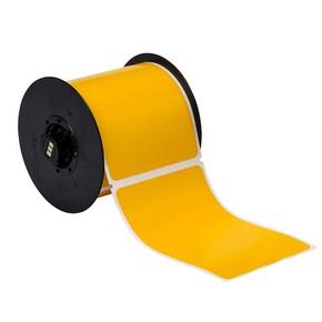 Винил для маркировки внутри/снаружи помещения B30-25-595-BLNKYL, жёлтый без надпечатки, 101,6 * 152,4 мм, в рулоне 175 шт. (BBP31/33/35/37)